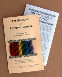 'The Colours of Medieval Europe'- Collection 1  $14.95 We are pleased to offer historically accurate, artisan produced thread for your historical craft projects.