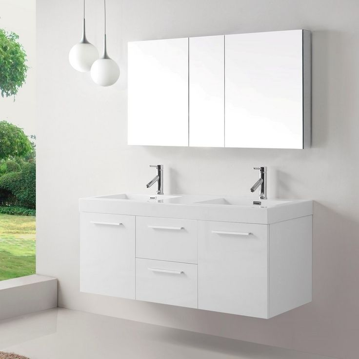 21 best images about bathroom vanities with tops on pinterest porcelain sink humidity levels for 54 inch double sink bathroom vanity