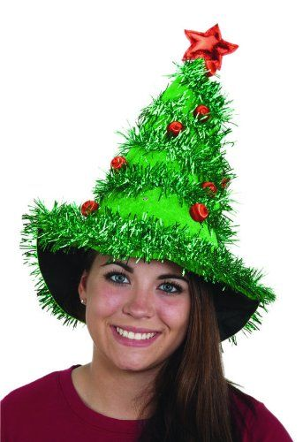 Christmas Tree Hat | Ugly Christmas Sweater Party