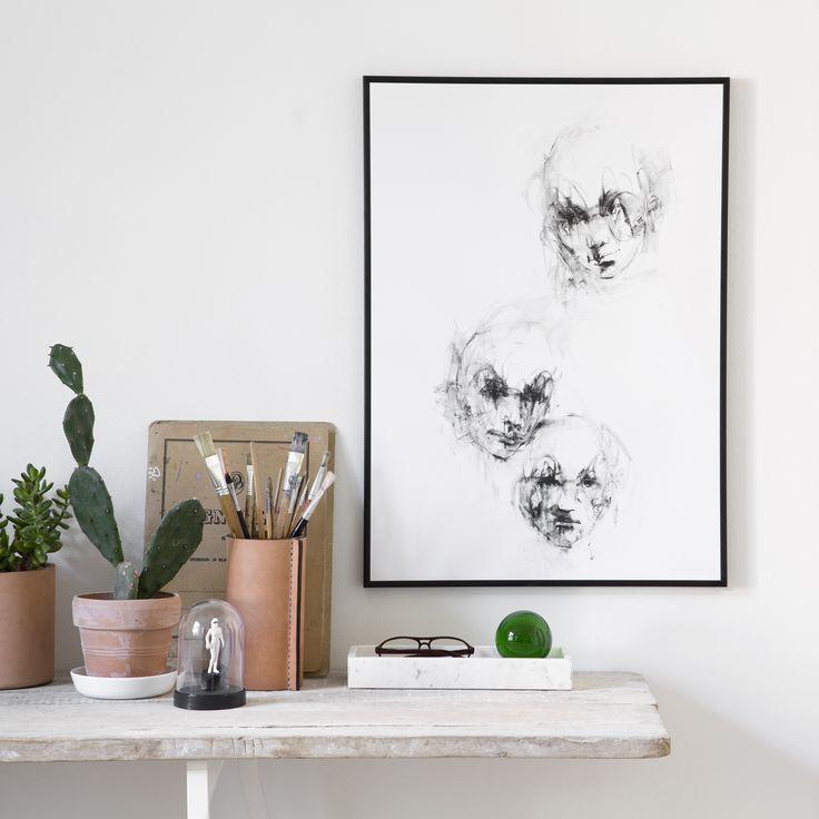 Together poster fra Selected By Walnutstreet, designet av Randi Vesterbæk Bro. En Limited Edition po...