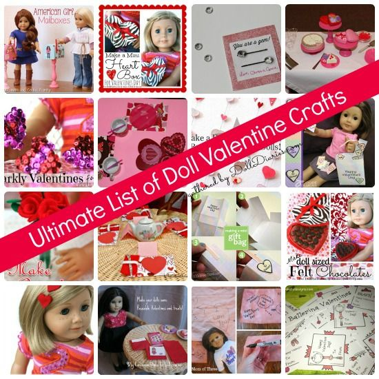 The Ultimate List of Doll Valentine's Day Crafts