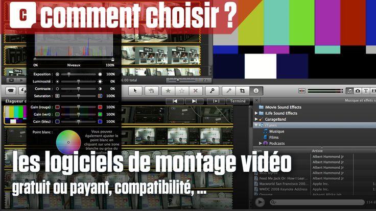 Vidéo : bien choisir son logiciel de montage en 4 points (Clubic)