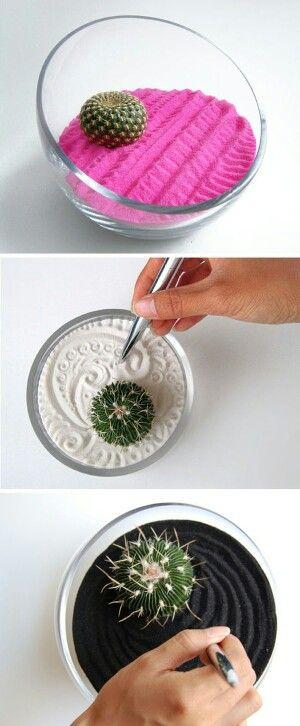Creando un jardín zen