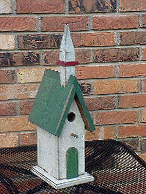 Wooden Creations WC 603 Church Birdhouse wood craft pattern