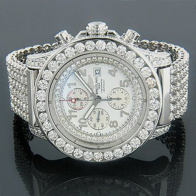 Breitling diamonds wow!