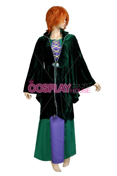 for christy Disney -- Winifred Sanderson Cosplay Costume Version 01
