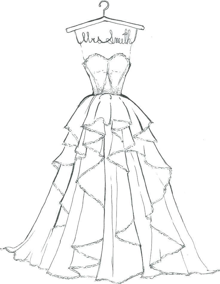 Barbie Dresses Coloring Pages Barbie Wedding Dress Coloring Pages Barbie Dress Pattern Free Wedding Dress Patterns Barbie Wedding Dress
