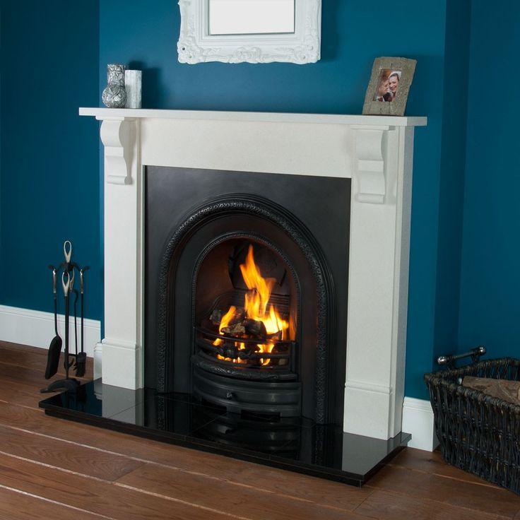 Abingdon Lytton Limestone Fireplace - Limestone Fireplaces - Fireplace Packages