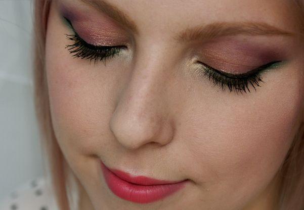Růžovo-zelené Jarní Líčení Makeup Tutorial