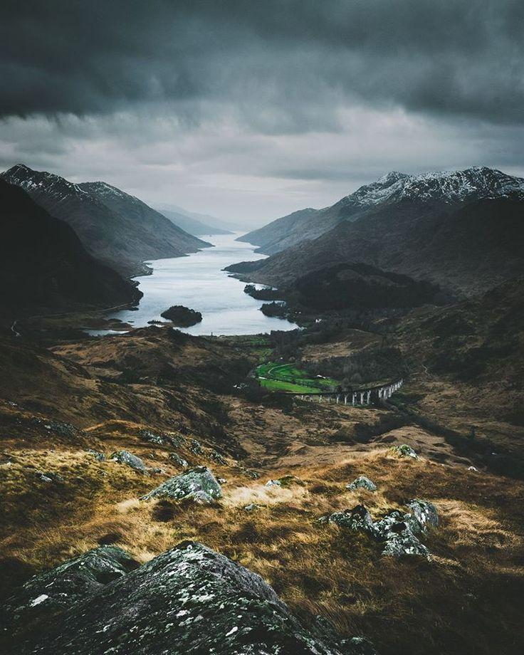 Glenfinnan overview, Scotland