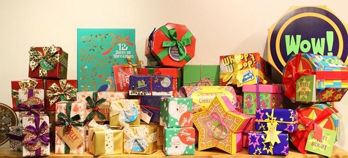 ラッシュ(LUSH)から、クリスマスシーズンにぴったりな限定ギフトセットが登場。 左) ホワイトクリスマス 15,400円(税込)、右) クリスマス キャンディー ボックス 3,340円(税込)ファン...