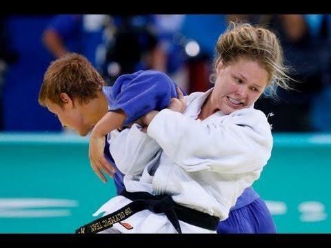 JUDO 2008 Olympics: Ronda Rousey (USA) - Edith Bosch (NED) - YouTube