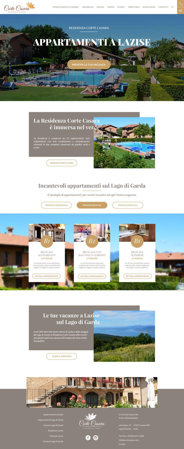 Home Page Corte Casara, apartments & rooms on Garda Lake