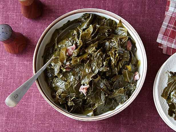 Get /etc/sni-asset/food/people/person-id/0c/be/0cbe4bc6e48014cf92b83275100700b1's Gina's Best Collard Greens Recipe from Food Network