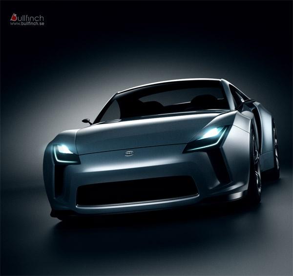 The new Toyota Supra concept car