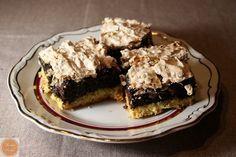 Kruche ciasto z makiem i bezą kokosową | The taste of sweet