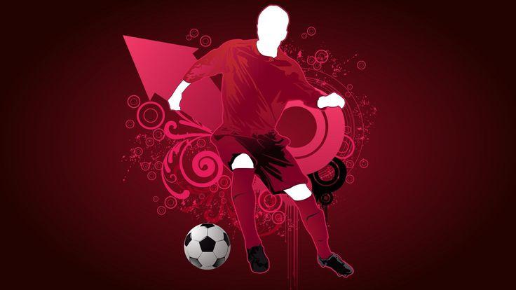 Football Players Vector Art