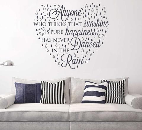 Anyone Who Thinks That Sunshine Wall Sticker