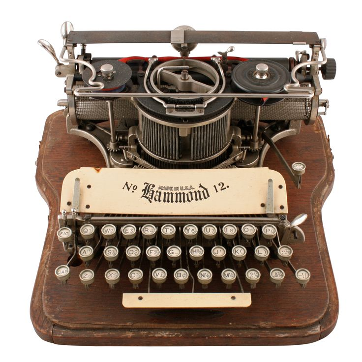 American Hammond No:12 Typewriter