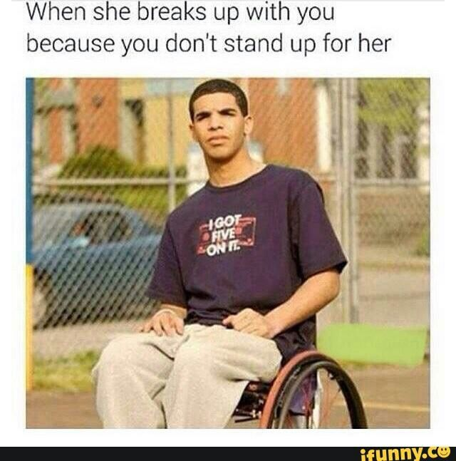 Funny Wheelchair Drake Memes