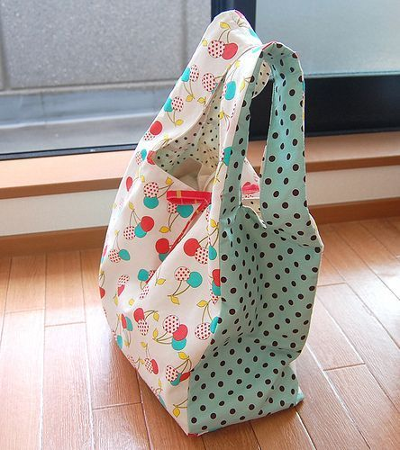Make your own grocery bags… way cuter than the cheap-o ones in the stores!Isabella Stanley-Shuck