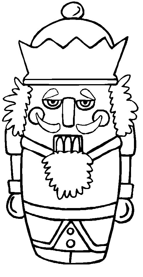 christmas nutcracker coloring pages printable - photo#20