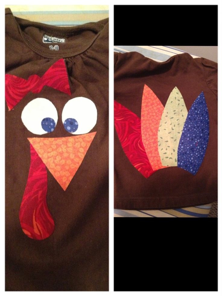 Olivia's thanksgiving shirt! It turned out perfect!