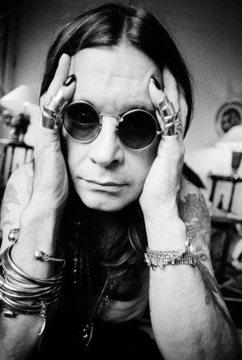 Ozzy Osbourne, rock star Rikki LA Rouge onto the mind heart and soul of Rikki LA…