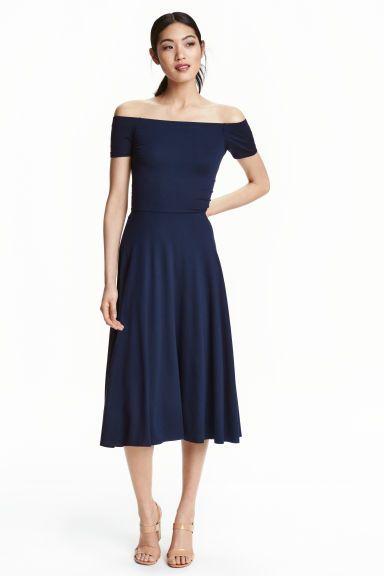Nyitott vállú ruha | H&M