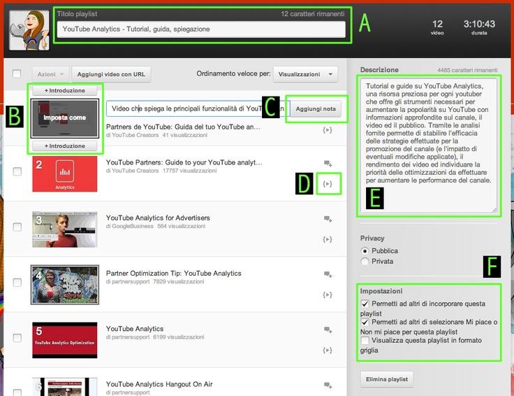 Vediamo insieme come ottimizzare una playlist per YouTube http://www.tuttosuyoutube.it/playlist-seo-youtube-internal-linking/ #seo #videomarketing #youtubemarketing #youtube #seovideo