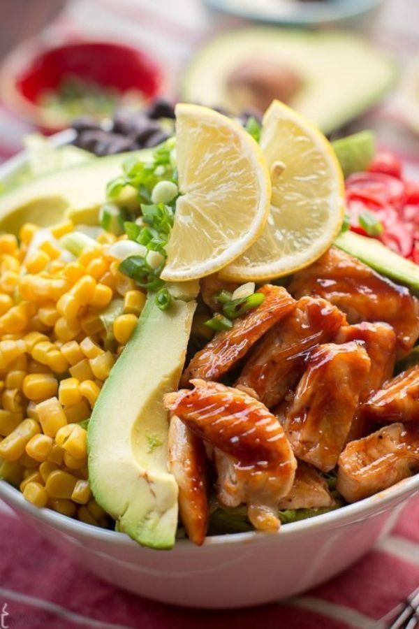 Healthy Recipes Tasty Healthy Recipes Broccoli Healthy Recipes No Sugar Healthy Recipes 250 Calories Or Less Healt Recipes Salad Recipes Bbq Ranch Chicken