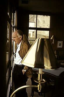 """Thomas Bernhard--  born Nicolaas Thomas Bernhard; 12/1931-02/1989) was an Austrian novelist, playwright and poet. Bernhard, whose body of work has been called """"the most significant literary achievement since World War II,"""" is widely considered to be one of the most important German-speaking authors of the postwar era."""