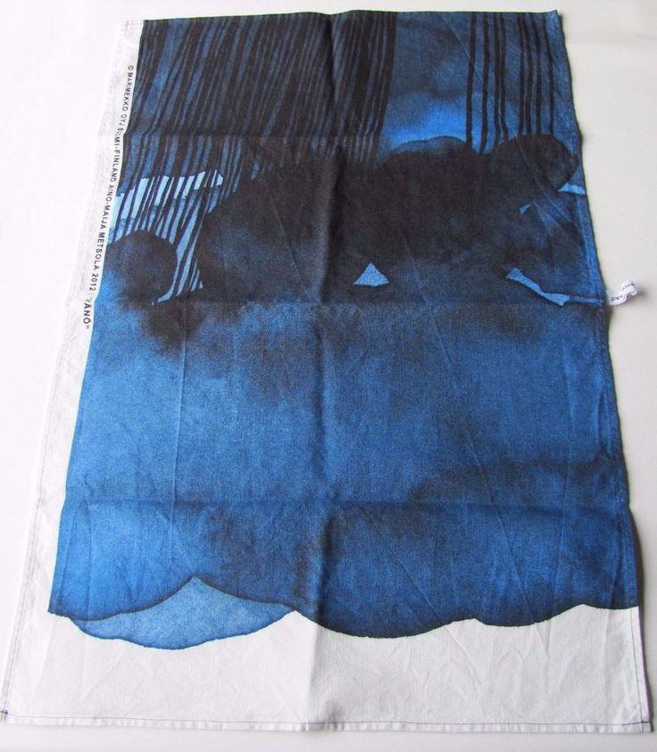Marimekko Blue Vänö Kitchen Towel Aino-Maija Metsola #Marimekko