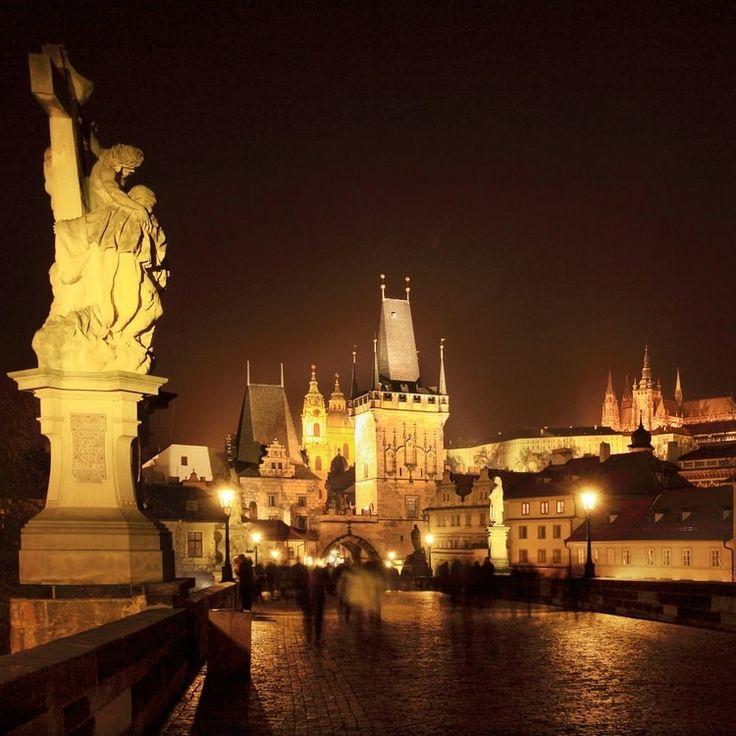 A Prague, le pont Charles