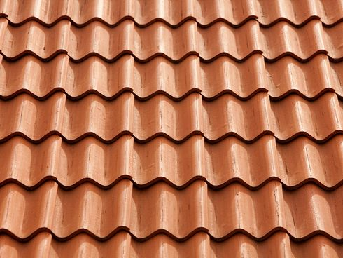 Flat Clay Roof Tiles