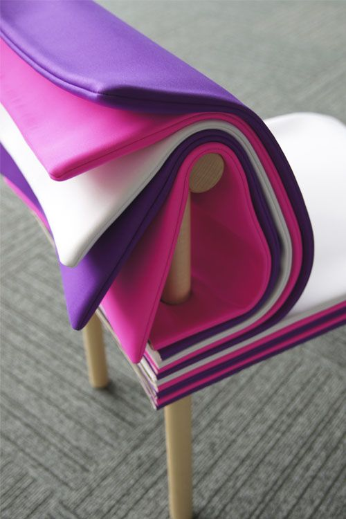 Inspired By Books, The Pages Chair Allows The User To Adjust The Seat  Height And Backrest Cushioning Simply By Turning Its Colorful Padded U201cpages. Ideas