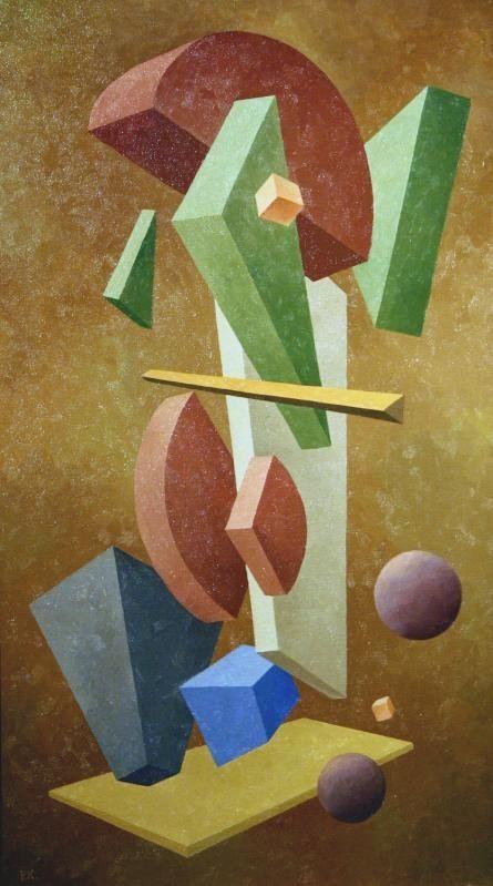 Paul Kelpe, Still Life in 1935 Style, 1981