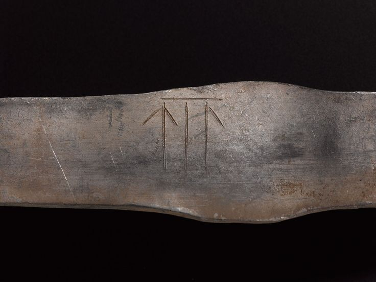 Runes inscribed on an armlet in the Galloway Hoard.  We've been give the chance to save the Hoard for the nation. Donate now to secure the Hoard and unlock its secret: www.nms.ac.uk/hoard