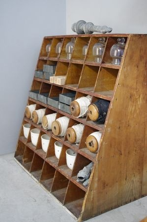 Cubbies - this one would be neat for storage!