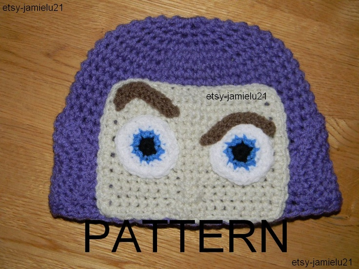 Buzz Light Year Toy Story Crochet Hat Pattern by jamielu21 on Etsy. $5 ...