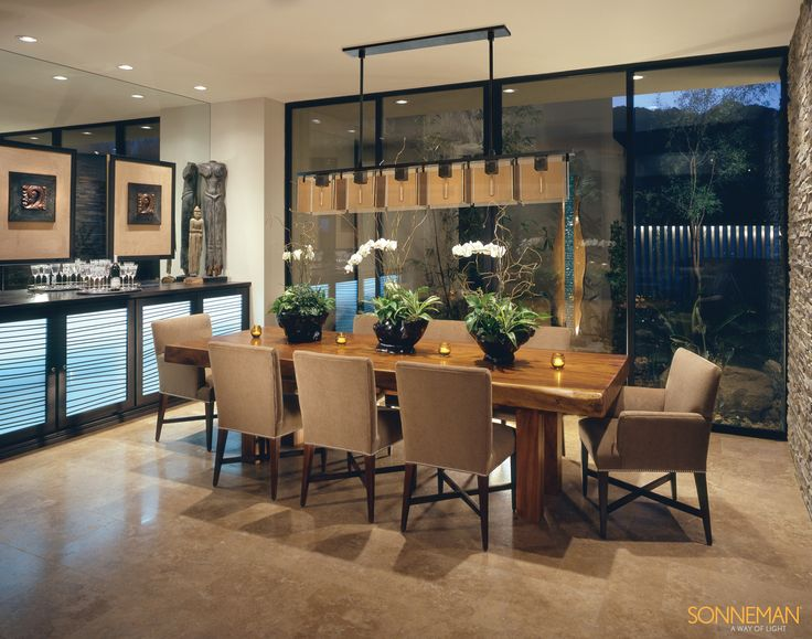 Luxury lighting direct sonneman lighting bronze age collection mohawk flooringcontemporary dining roomslaminate