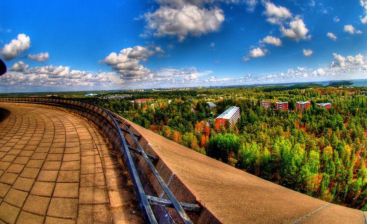 Beeindruckende Farben in Espoo