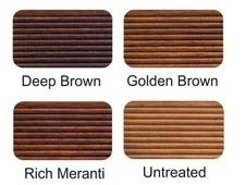 Woodoc Deck Dressing Applied to Balau decking.  See more at http://www.woodoc.com/categories/2/products/5  #woodoc #deck #dressing #balau #wood #exterior #colour #chart #examples