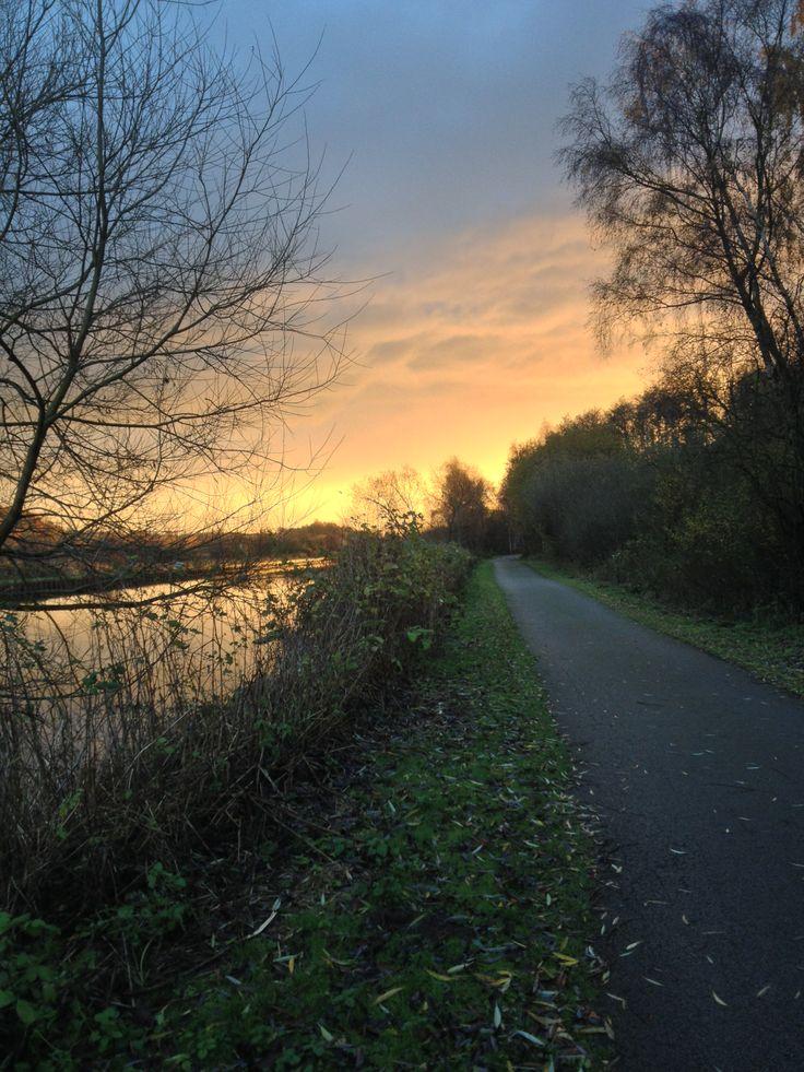 Winter sunrise in Woodlesford