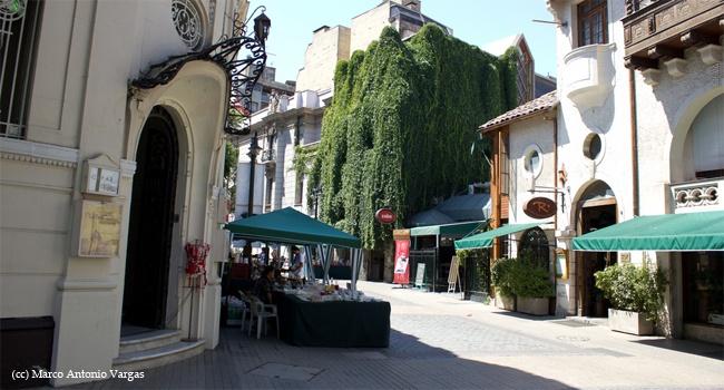 Neighborhood - Barrio Lastarria, Santiago de Chile