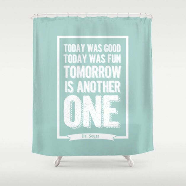 Best Shower Curtains Images On Pinterest Fabric Shower - Shower curtain with words