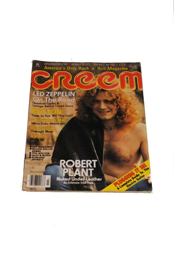 Creem magazine. Used to always pick up an issue at a store across the street from the Alpine movie theater