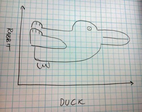 Ördek ya da tavşan. Nereden baktığınıza bağlı #rabbit #duck