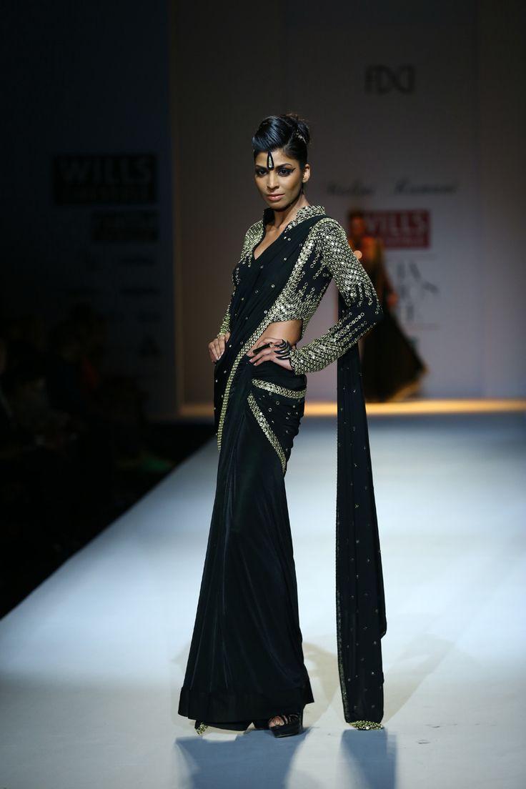 Malini Ramani Fall/Winter 2014-15 The designer's collection at Wills India Fashion Week