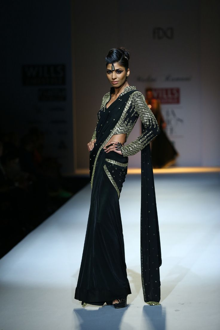 Malini Ramani sari. Fall/Winter 2014-15